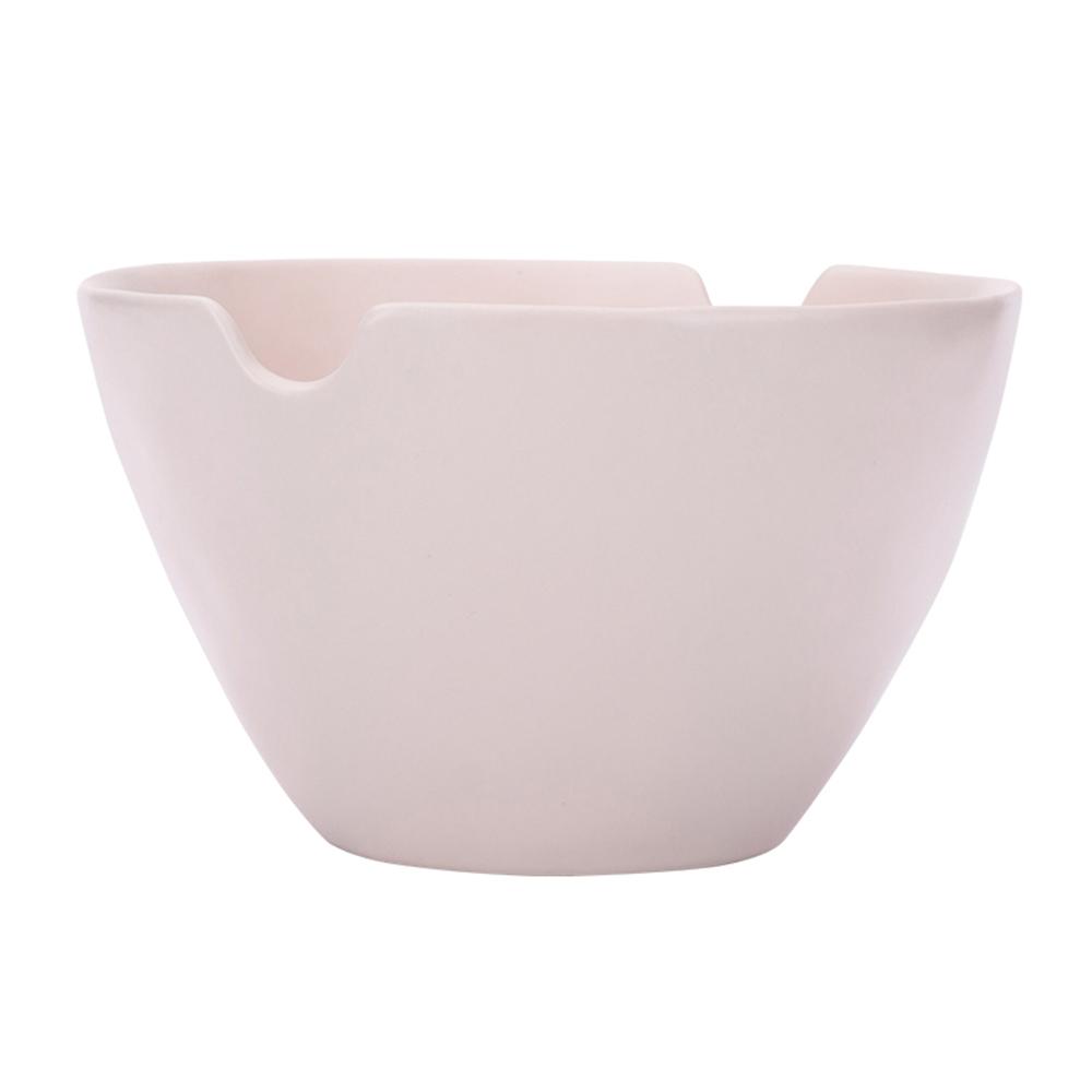 JOYYE陶瓷餐具|自然初語手捏麵碗-裸色