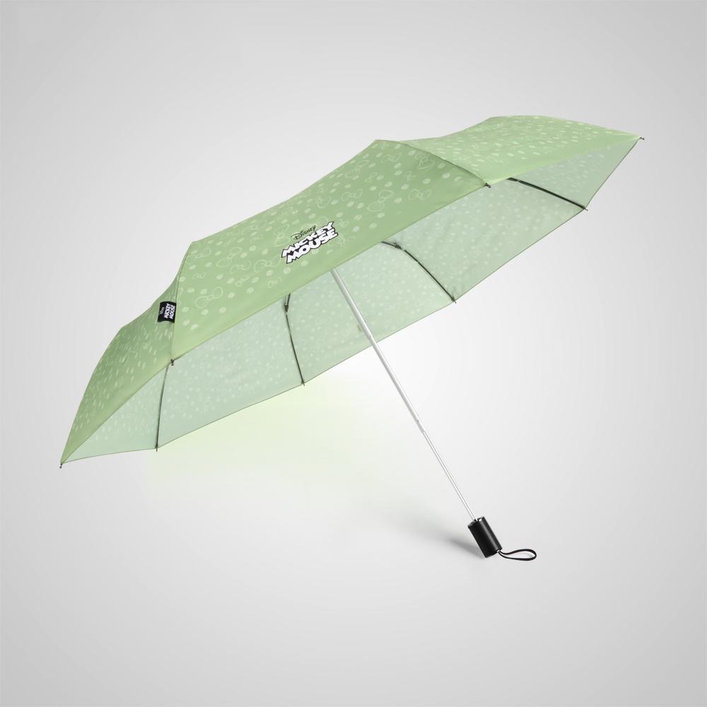 德國kobold|迪士尼官方授權-晴雨兩用傘-米妮蝴蝶結-綠
