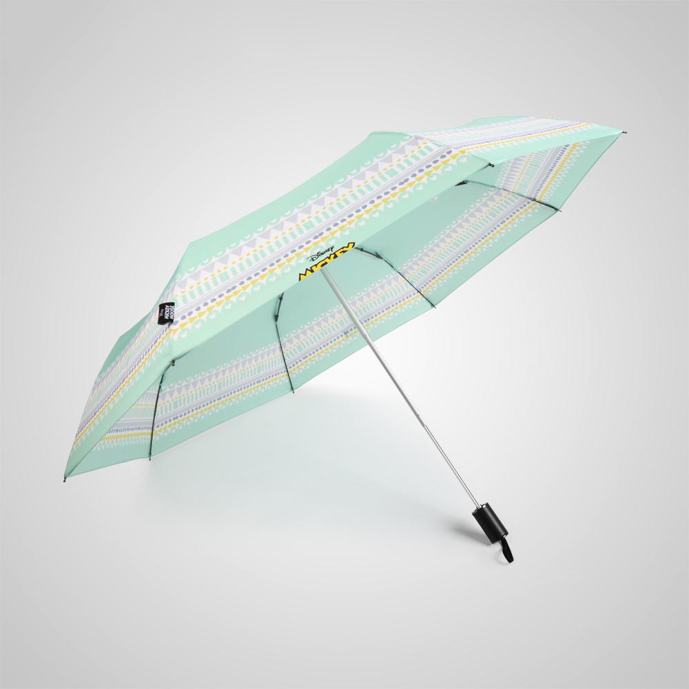 德國kobold 迪士尼官方授權-晴雨兩用傘-花樣米奇-綠