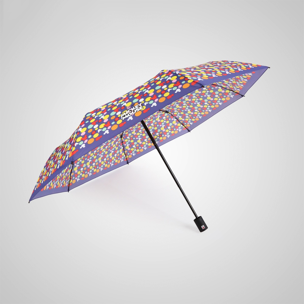 德國kobold|迪士尼官方授權-晴雨兩用傘-米奇糖果屋-藍