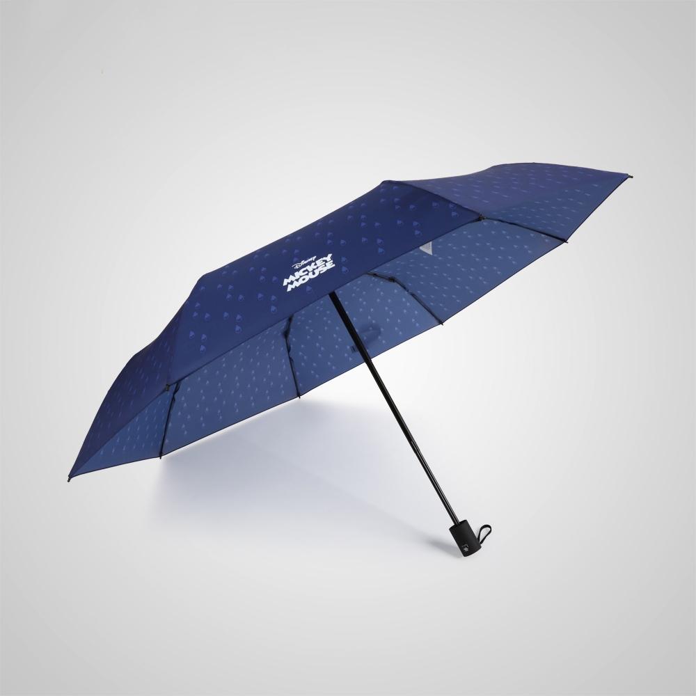 德國kobold|迪士尼官方授權-晴雨兩用傘-水滴米奇-藍