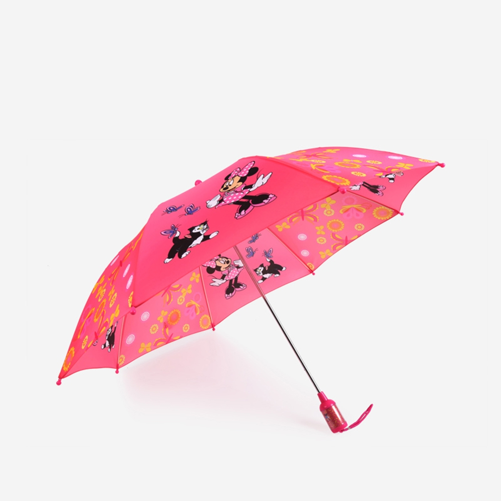 德國kobold|迪士尼官方授權-兒童晴雨兩用傘-圓筒手柄-米妮