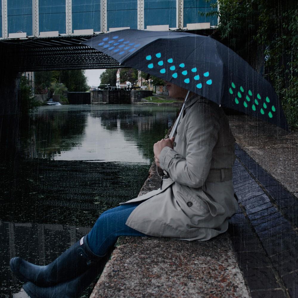 英國 Suck UK 晴雨變色彩虹傘