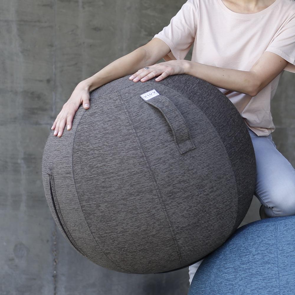 【全台獨家】德國 VLUV STOVE 織物球椅 工業碳灰