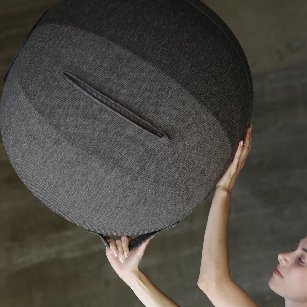 【全台獨賣】德國 VLUV|STOVE 織物球椅 工業碳灰
