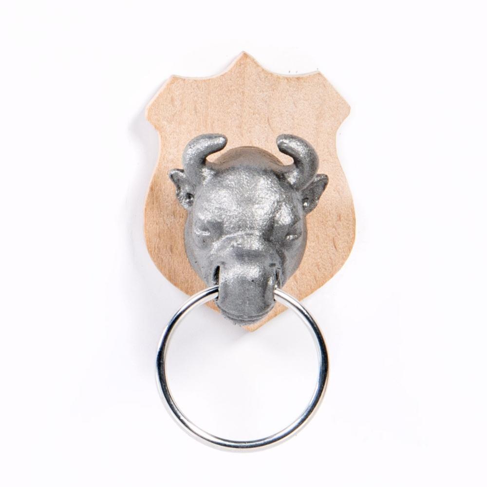 英國 Suck UK 獵人鑰匙圈- 公牛