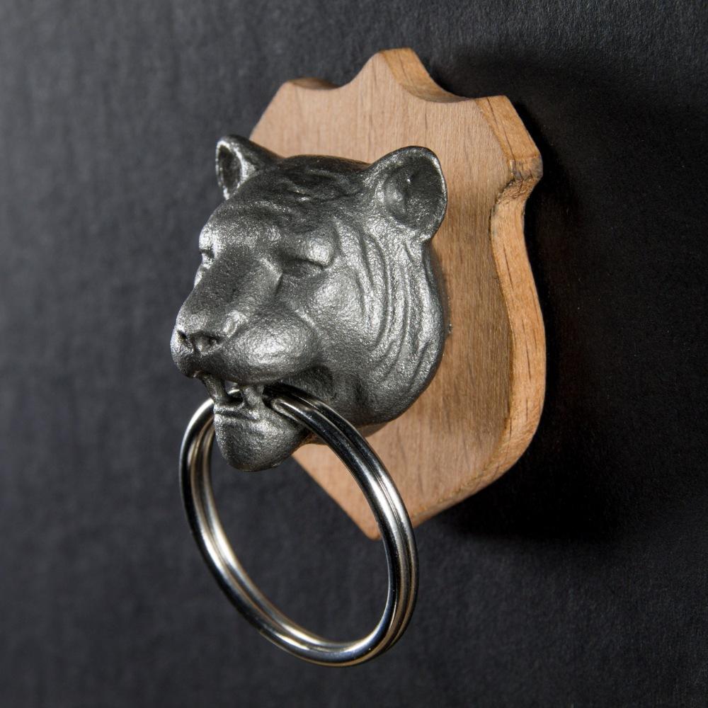 英國 Suck UK 獵人鑰匙圈-老虎