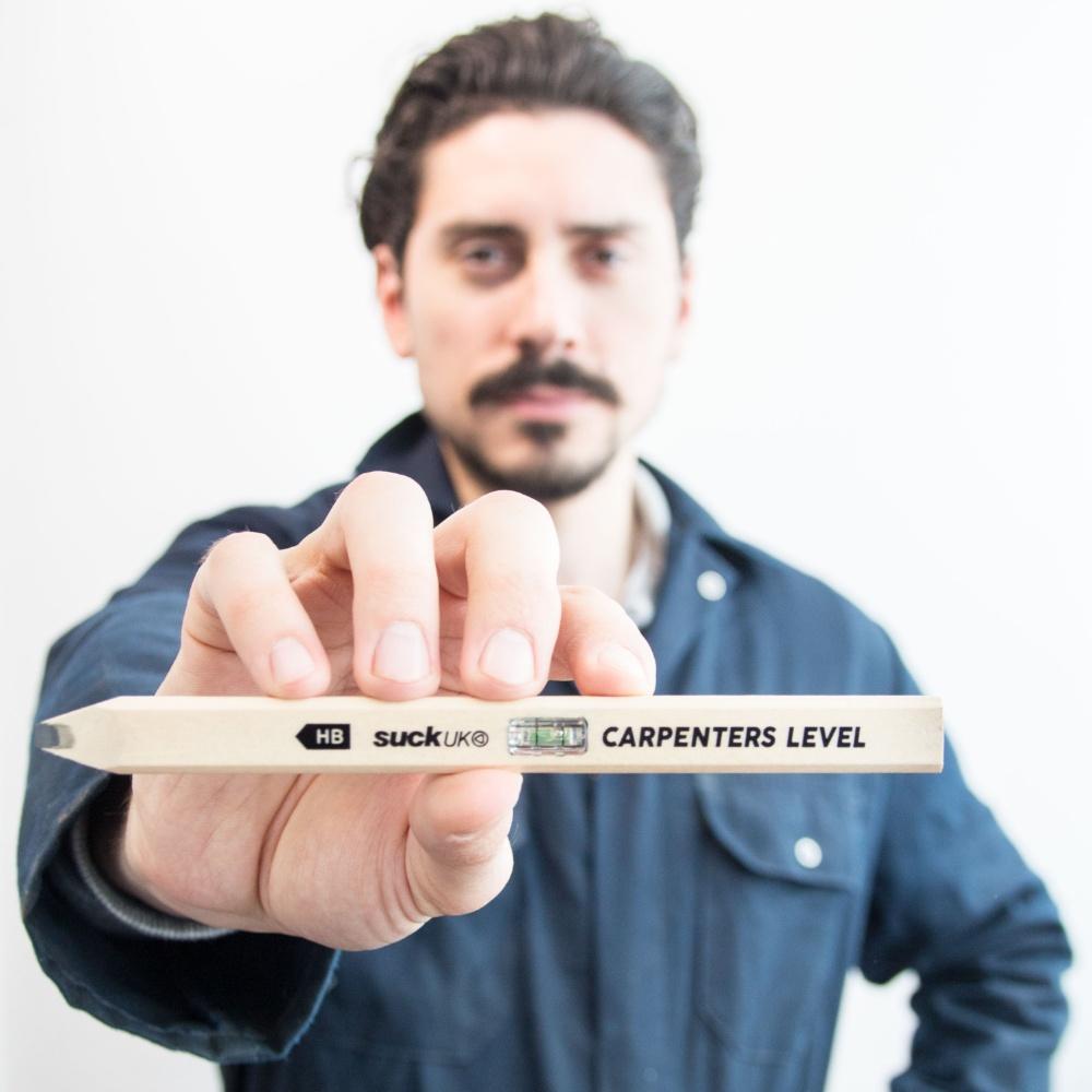 英國 Suck UK 木匠平衡尺鉛筆