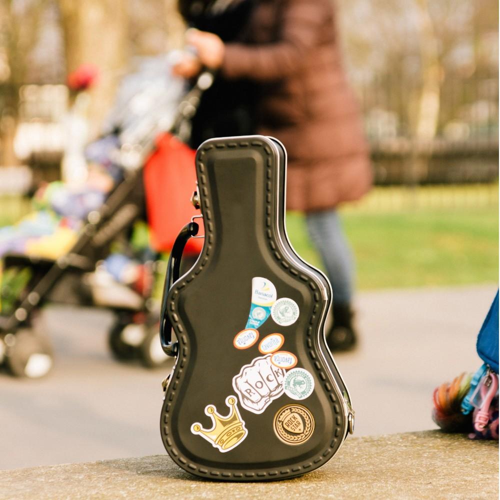 英國 Suck UK 搖滾吉他野餐盒