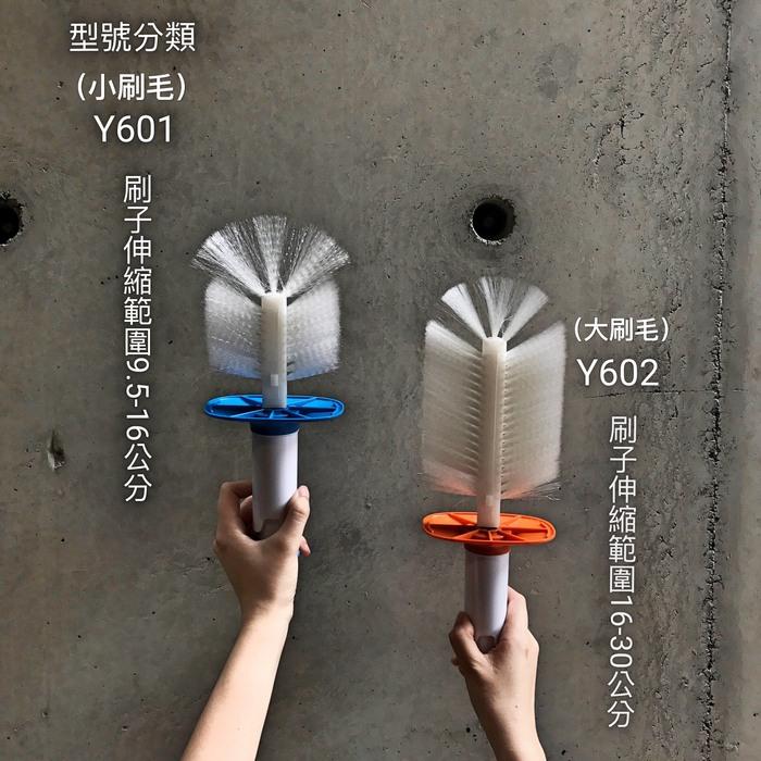 (複製)YILI|多功能旋轉刷具-藍/橘