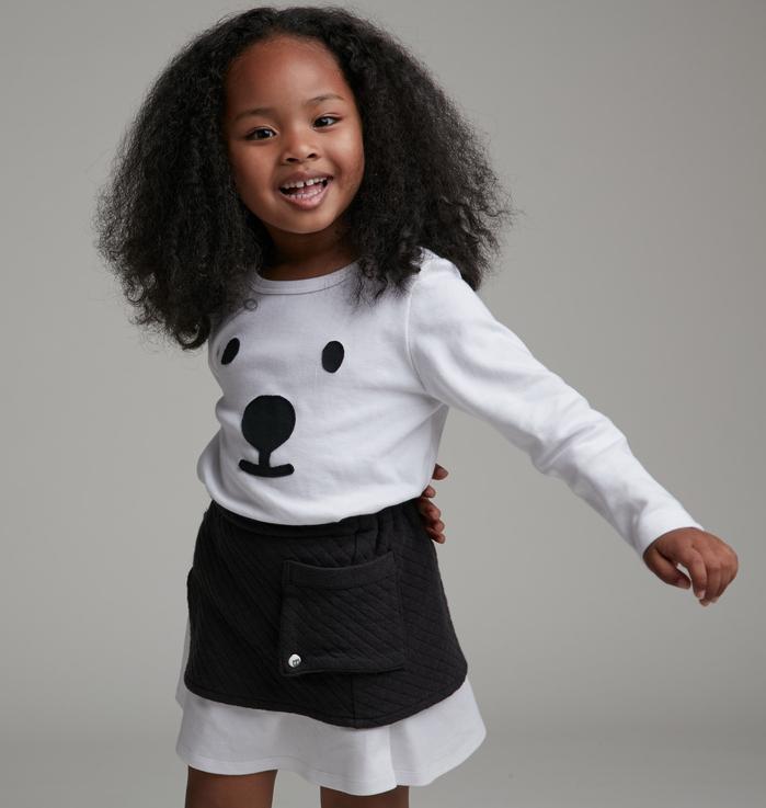 (複製)baby baby cool|雙層A字短裙(紅)