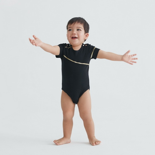 baby baby cool|拉鍊系列 英倫搖滾(黑)