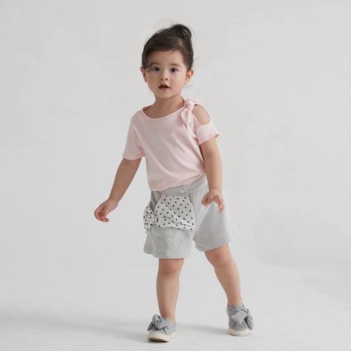 baby baby cool|法式蝴蝶結短褲