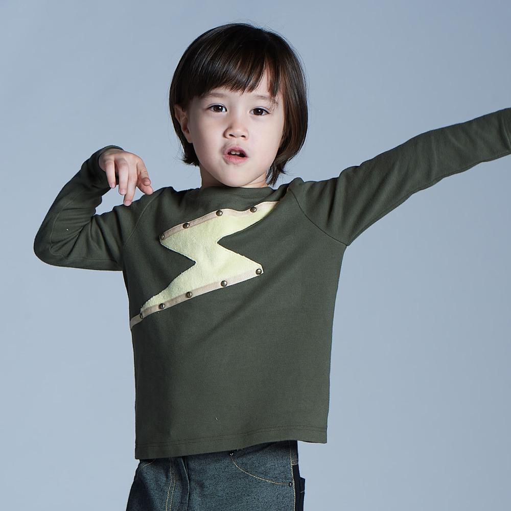 baby baby cool|power max上衣(軍綠)