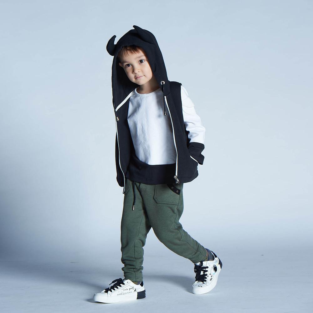 baby baby cool|搖滾大口袋長褲(綠)