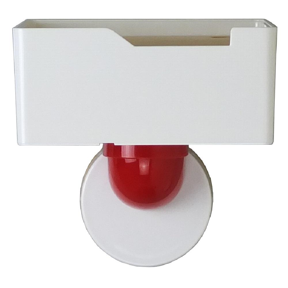 TiLS Homeware|KISS LOCK 快鎖吸盤-木蓋收納盒(小)