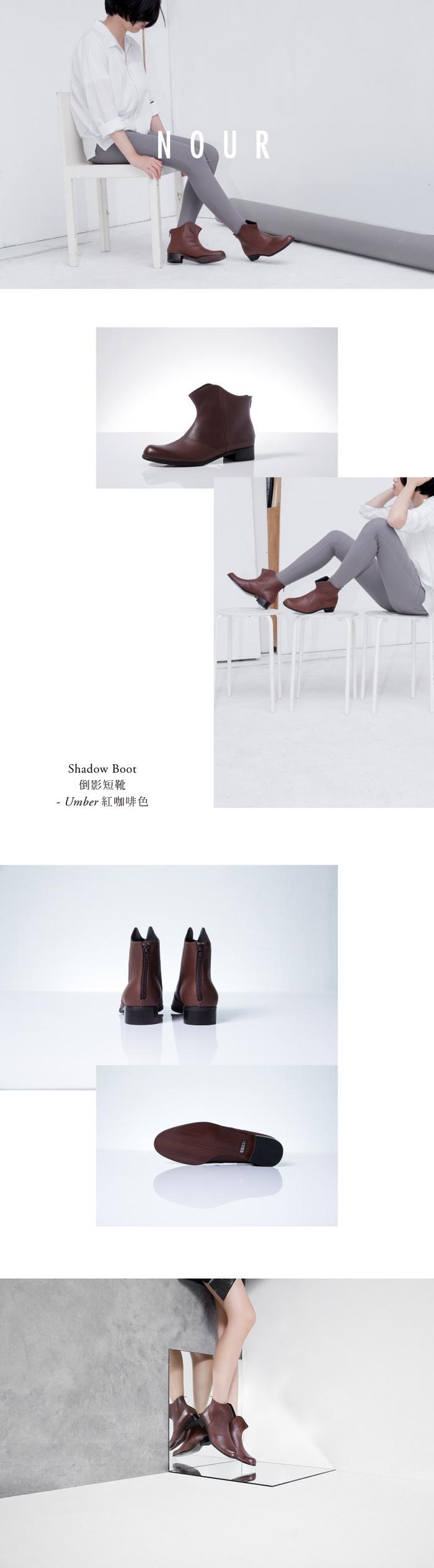 (複製)NOUR|classic 經典款 oxford 全素面牛津鞋-Truffle 黑色