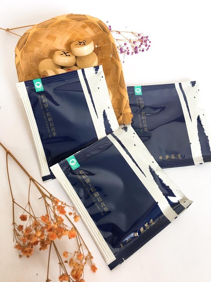 炭茶道|炭TOGO系列-松柏嶺.松柏長青茶(3克袋茶8入裝)-手提盒