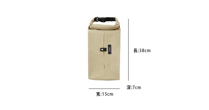 (複製)Roderick- 扣掛式衛生紙收納袋(黑)