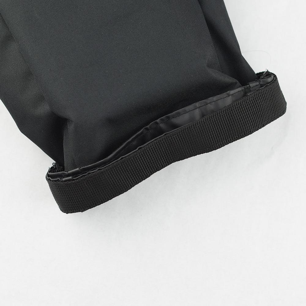 Zeller Life 扣掛式衛生紙收納袋(黑)