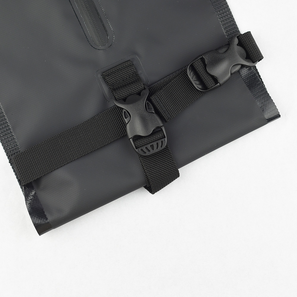 Zeller Life|防潑水扣掛式衛生紙收納袋(黑)