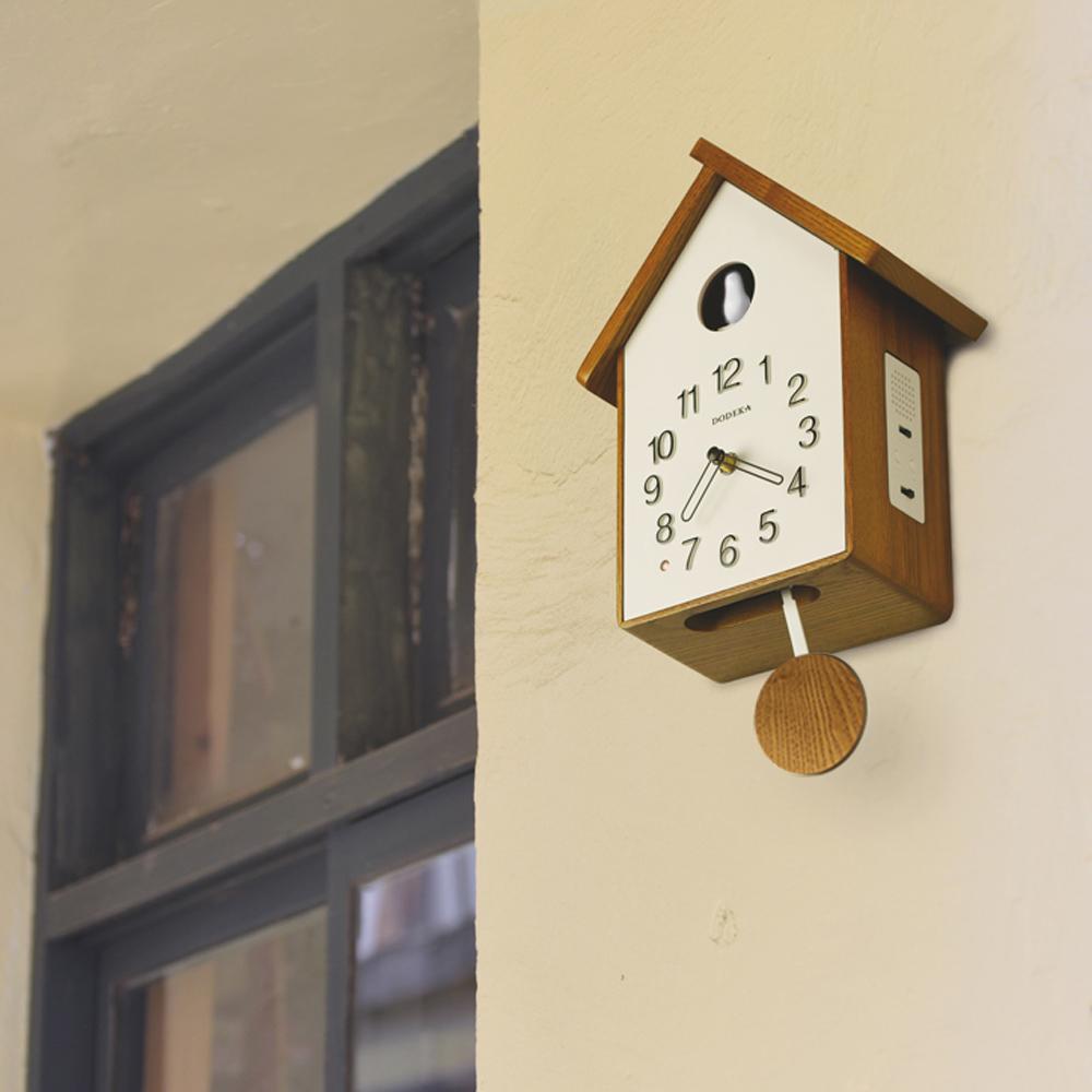 Zeller Life|咕咕布穀鳥整點報時 搖擺 時鐘 掛鐘