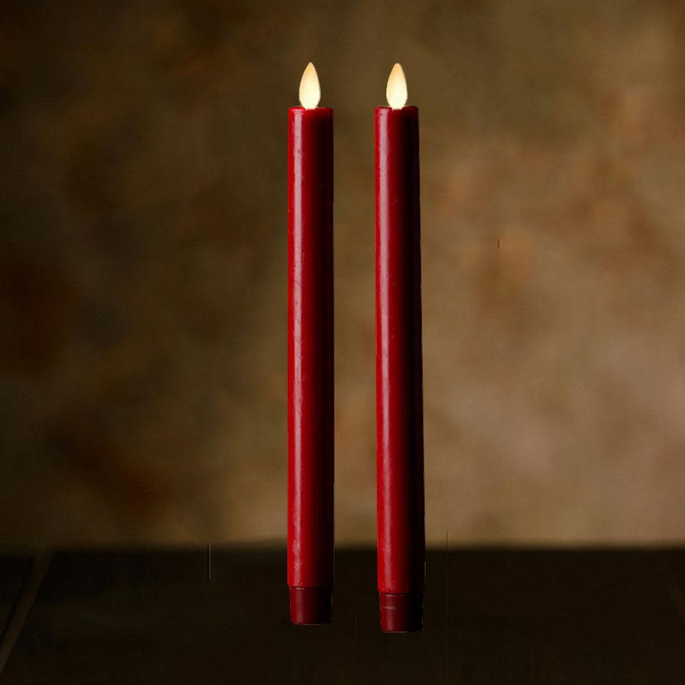 Veraflame|擬真 LED 燭燈 2件裝 Window Taper(S)
