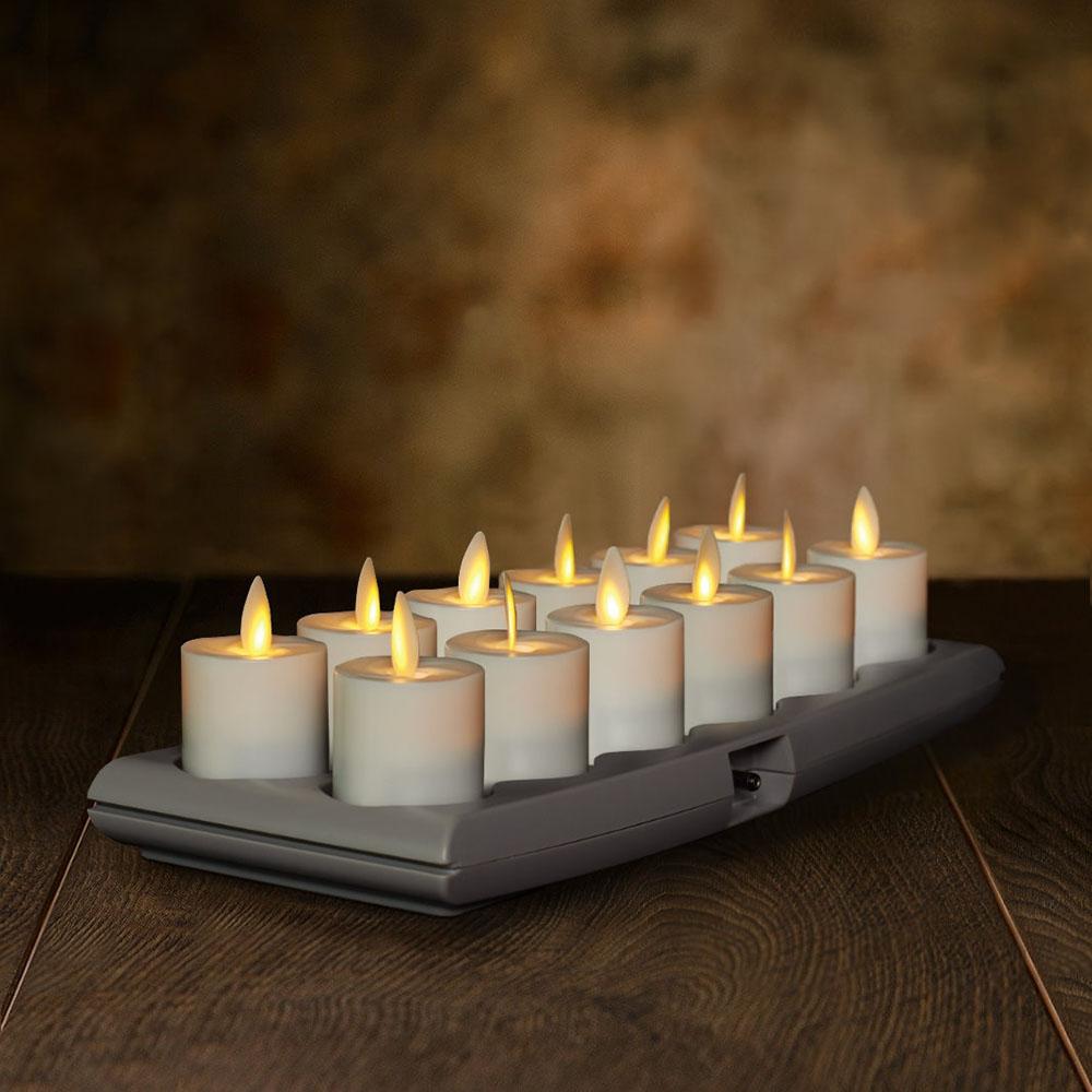 Veraflame|充電式許願蠟燭12入組Rechargeable Votives