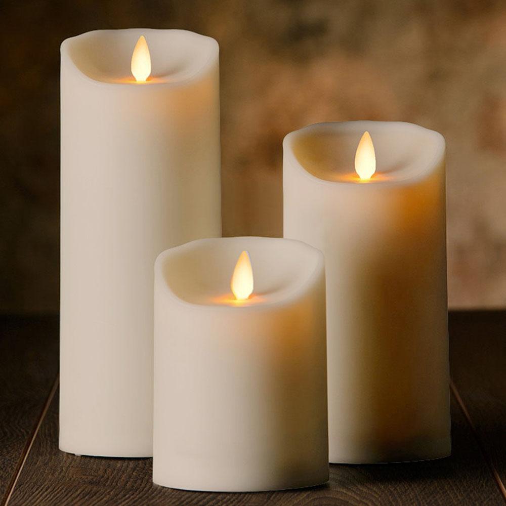 Veraflame|⍉ 3斜口擬真 LED 蠟燭 Oblique Edge LED Candle(L)