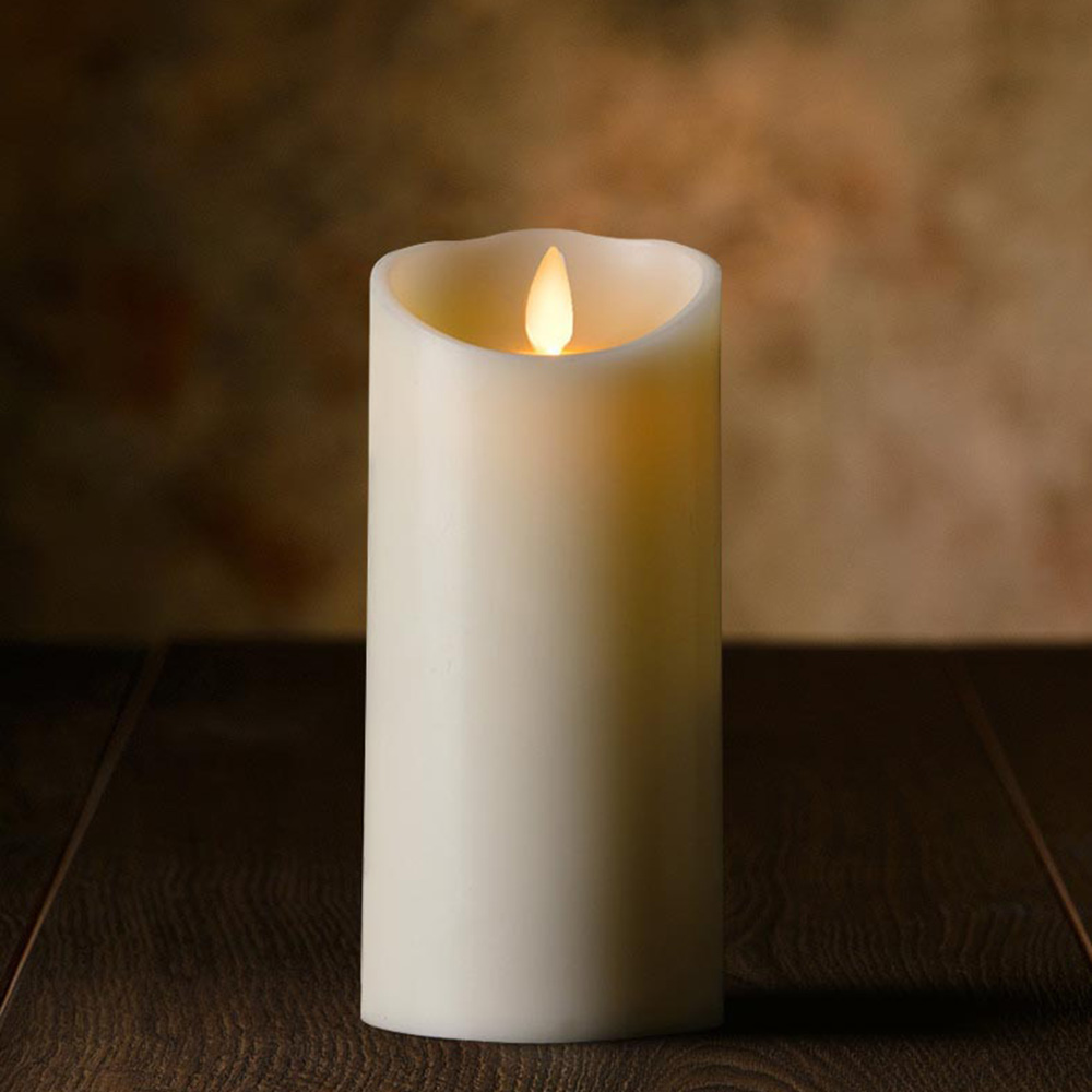 Veraflame|⍉ 3斜口擬真 LED 塑膠蠟燭 Oblique Edge LED Candle(L)