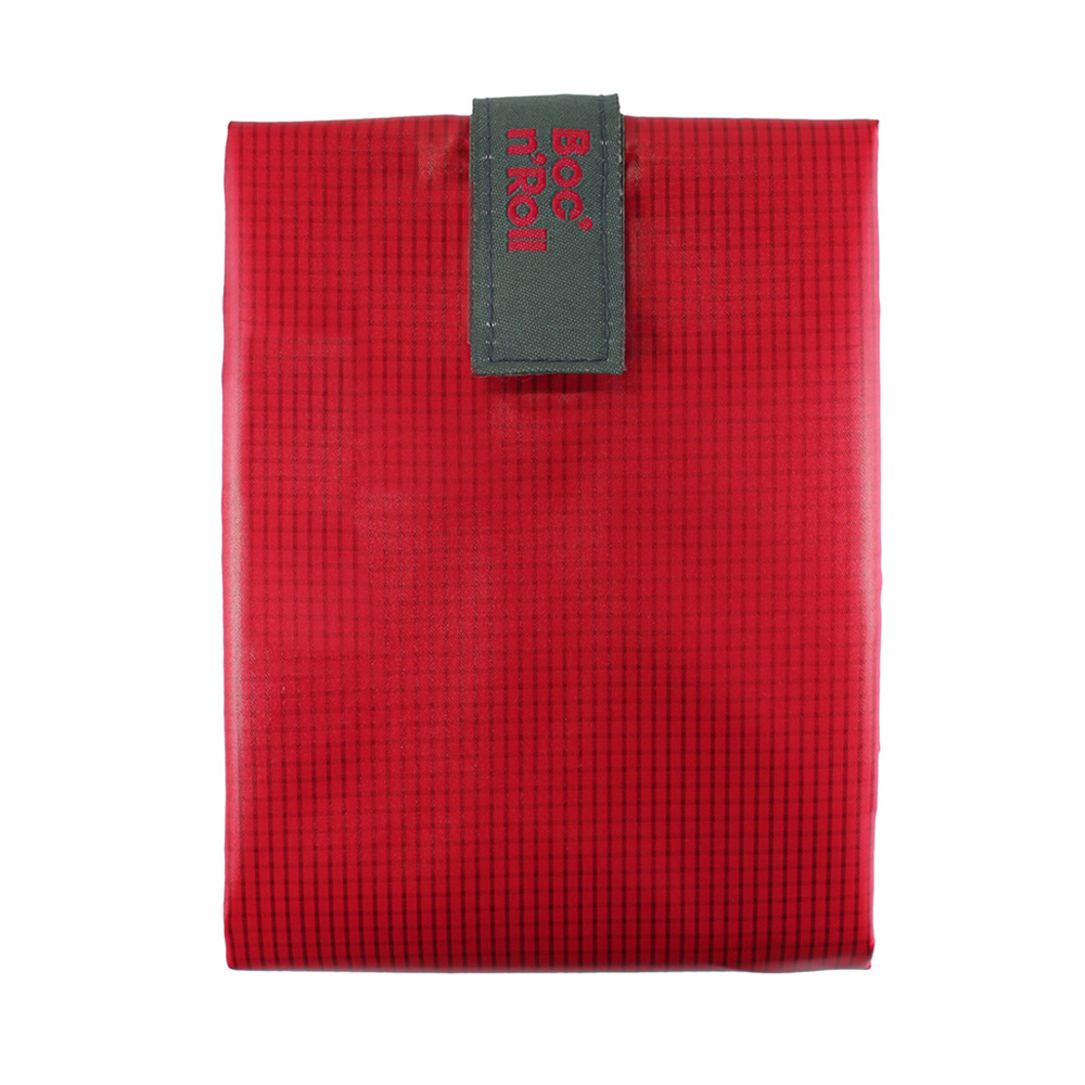 Roll′eat | 西班牙食物袋 搖滾輕食袋-細方格系列(魔力紅)