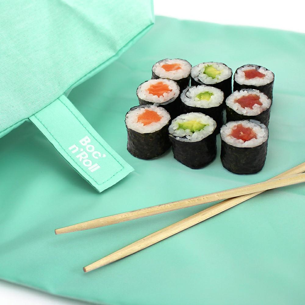 Roll'eat | 西班牙食物袋  搖滾輕食袋-馬卡龍(薄荷綠)