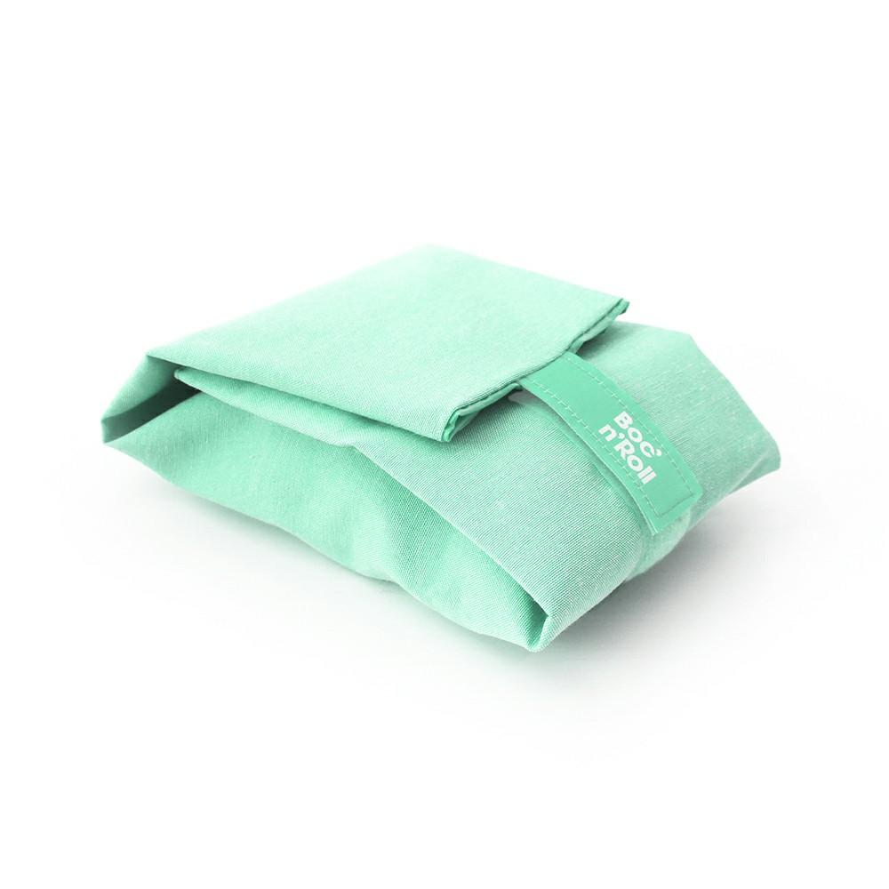 Roll′eat | 西班牙食物袋  搖滾輕食袋-馬卡龍(薄荷綠)