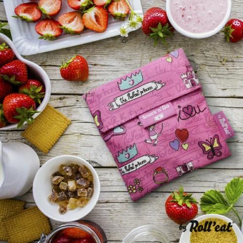 Roll'eat | 西班牙食物袋 吃貨零食袋(S)-童趣(粉紅公主)
