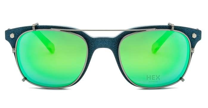 (複製)HEX Eyewear|騙子 - Abagnale│光學配前掛墨鏡│太陽眼鏡│義大利製 - 黑啡花