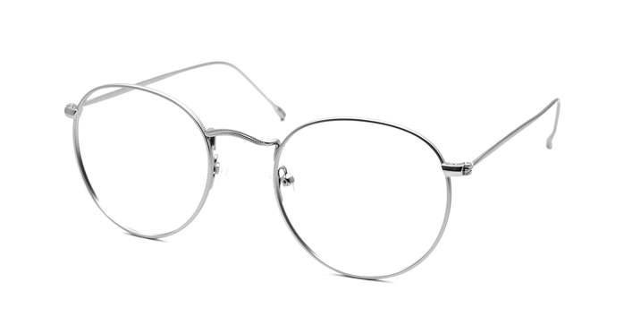 HEX Eyewear|Carrier No.0506│光學鏡框│平光眼鏡 - 電鍍銀