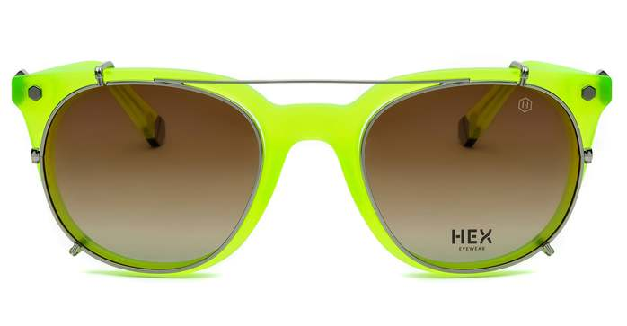 (複製)HEX Eyewear 演員 - Damon│光學配前掛墨鏡│太陽眼鏡│義大利製 - 黑色