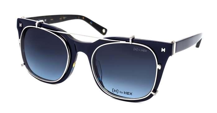 (複製)HEX Eyewear|模特兒 - Derek Z.│光學配前掛墨鏡│太陽眼鏡│義大利設計 - 褐色啡花