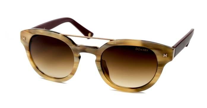 HEX Eyewear|醫生 - Albert S.│墨鏡│太陽眼鏡│義大利設計 - 褐色啡花