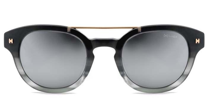 HEX Eyewear|醫生 - Albert S.│墨鏡│太陽眼鏡│義大利設計 - 灰色啡花,透明