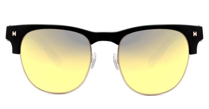 HEX Eyewear|藝術家 - Frida K.│墨鏡│太陽眼鏡│義大利設計 - 黑色,透明