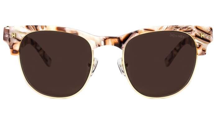 HEX Eyewear|藝術家 - Frida K.│墨鏡│太陽眼鏡│義大利設計 - 肉色大理石紋
