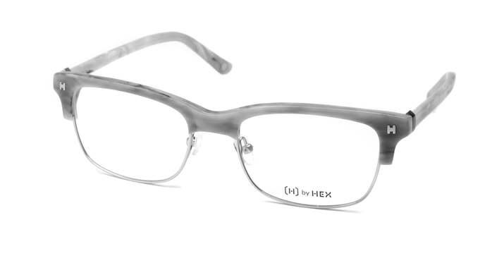 HEX Eyewear|業務員 - Jordan B.│光學鏡框│平光眼鏡│義大利設計 - 灰色煙紋