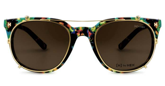 (複製)HEX Eyewear|業務員 - Jordan B.│光學鏡框│平光眼鏡│義大利設計 - 透明