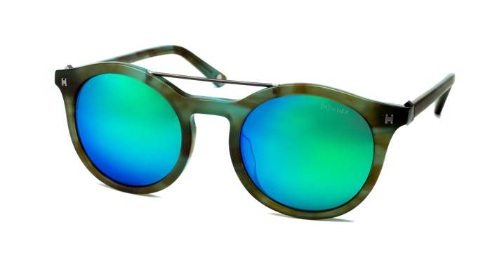 HEX Eyewear|科學家 - Charles D.│墨鏡│太陽眼鏡│義大利設計 - 綠色煙紋