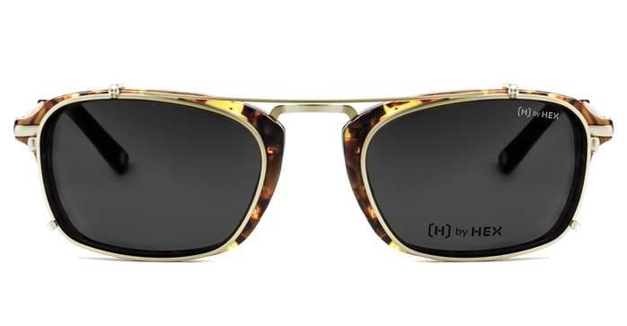 HEX Eyewear 演員 - Matt D.│光學配前掛墨鏡│太陽眼鏡│義大利設計 - 玳瑁