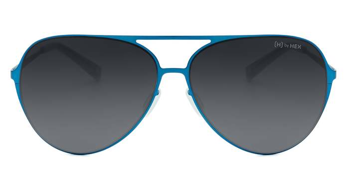HEX Eyewear|飛行員 - Wilbur W.│墨鏡│太陽眼鏡│義大利設計 - 藍色