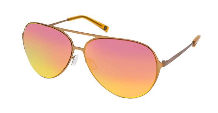 HEX Eyewear|飛行員 - Wilbur W.│墨鏡│太陽眼鏡│義大利設計 - 橘色