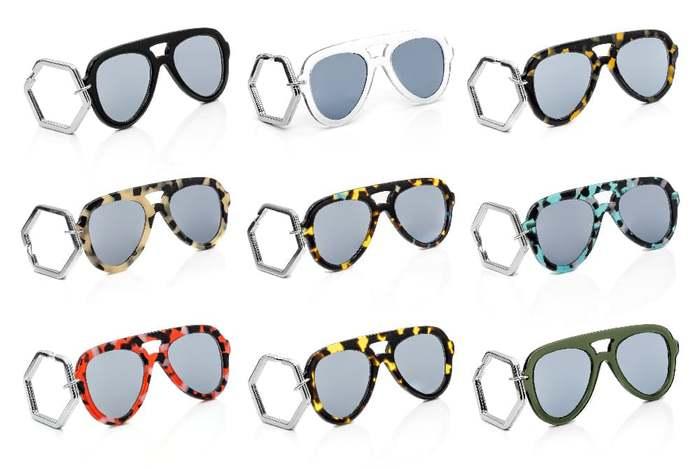 HEX Eyewear|墨鏡鑰匙圈|太陽眼鏡鑰匙圈|HEXETATE 板料配件