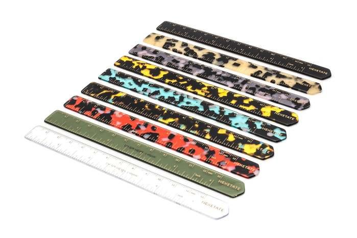 HEX Eyewear|尺|HEXETATE 眼鏡墨鏡板料配件 - 黑色